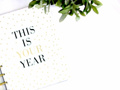 Canva - This Is Your Year Notebook